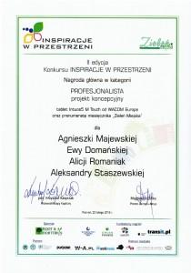 dyplom 2013 gardenia